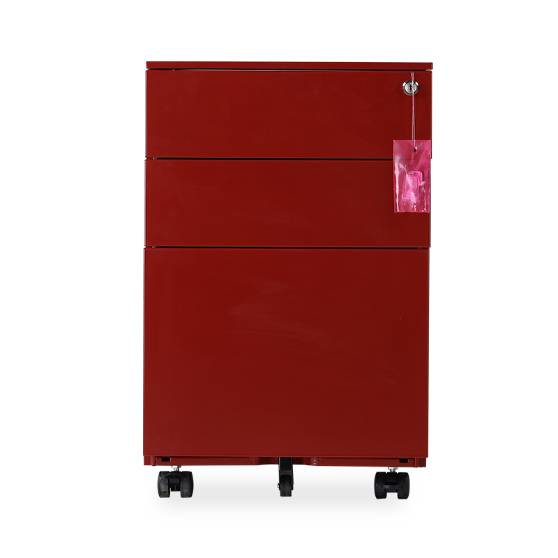 Good price 3 drawer file steel cabinet metal cabinet mobile of office furniture