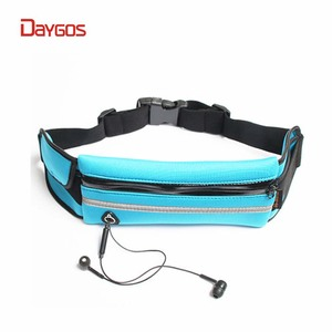 Daygos 2018 Running Waist Pack Water Resistant Runners Belt Pack for Hiking Fitness Adjustable Running Pouch for Phones