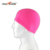 Chinese Manufacturer Monochrome Nude Fabric Lycra Swimming Cap