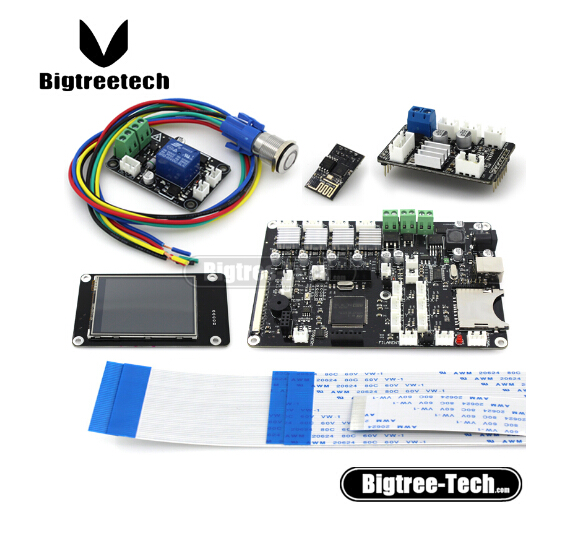 3D Printer board panel Motherboard and nozzle control module and touch screen Motherboard kit