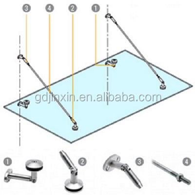Stainless Steel Wall Mount Awning