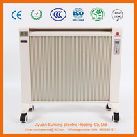 2200W freestanding portable infrared electric home heater free of oil or water