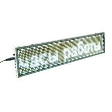 Programmeerbare mini led sign reclame screen led scrolling message <span class=keywords><strong>board</strong></span>