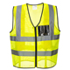 Hot Sell High Quality Work-wear Fluorescent Color Safety Vest