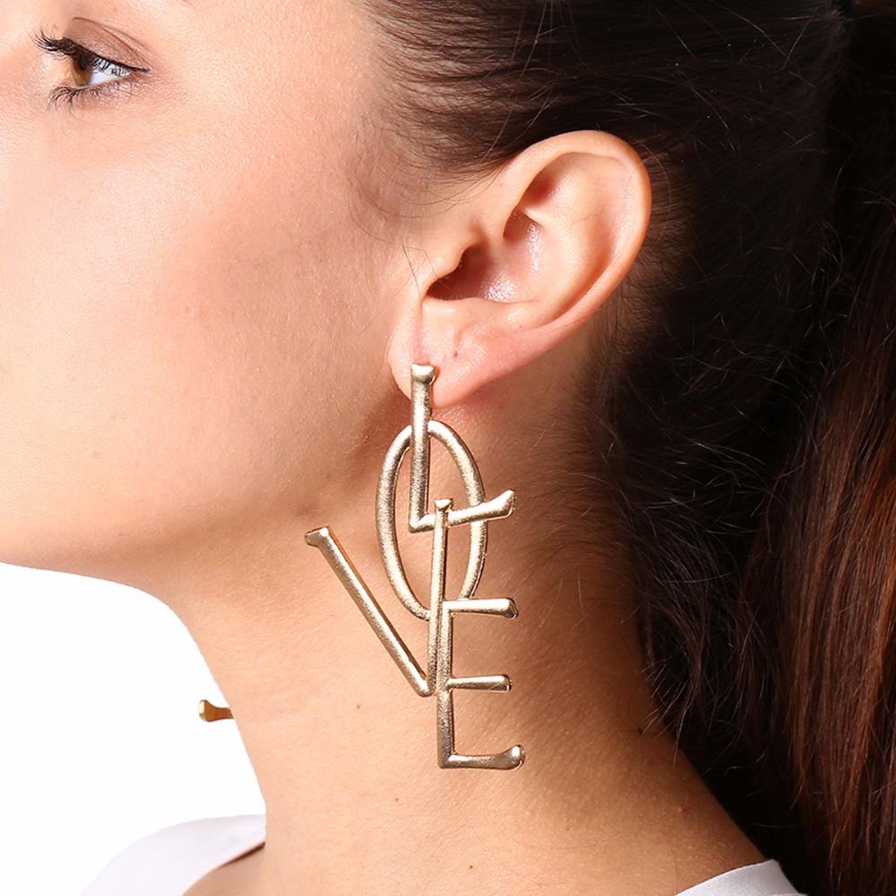 Wonlines Fashion Stainless Steel Double Cross Dangle Stud Earrings