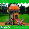 Newest kids playground plastic fort for outdoor playground