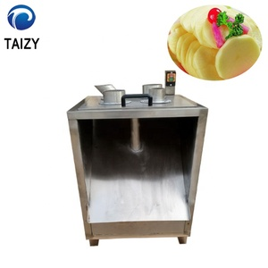 Commercial multifunction manual lemon potato lotus root fruit and vegetable slicer machine
