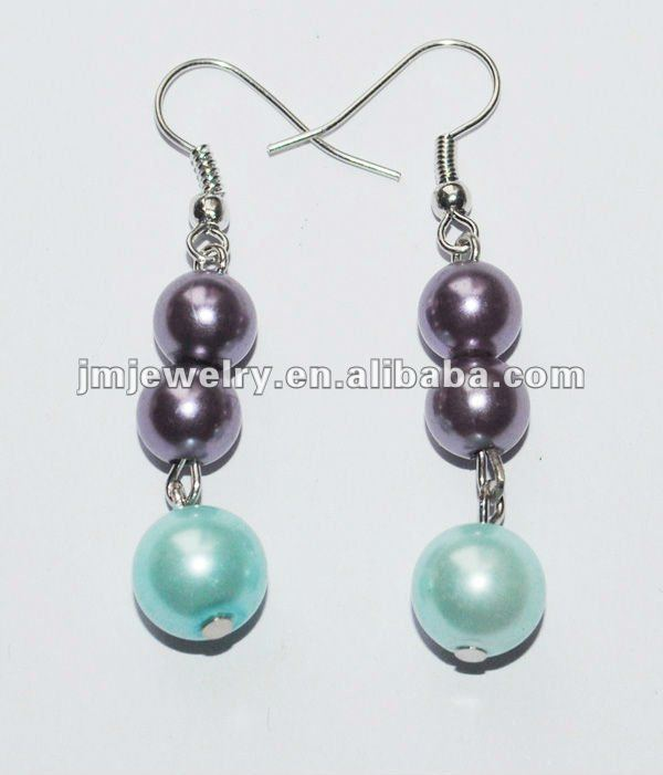 2013 fashion pearl Earring for Spring&Summer