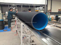 sn8 500mm hdpe corrugated plastic pipe for drainage