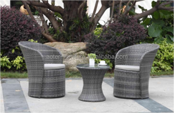Patio al aire libre muebles de mimbre juego de café-Juegos de Café y ...
