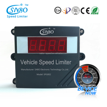 Maximum car speed limiters for motor vehicles