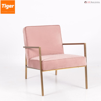 Top Interior Designers Pink Velvet Occasional Chair Of Alibaba ...