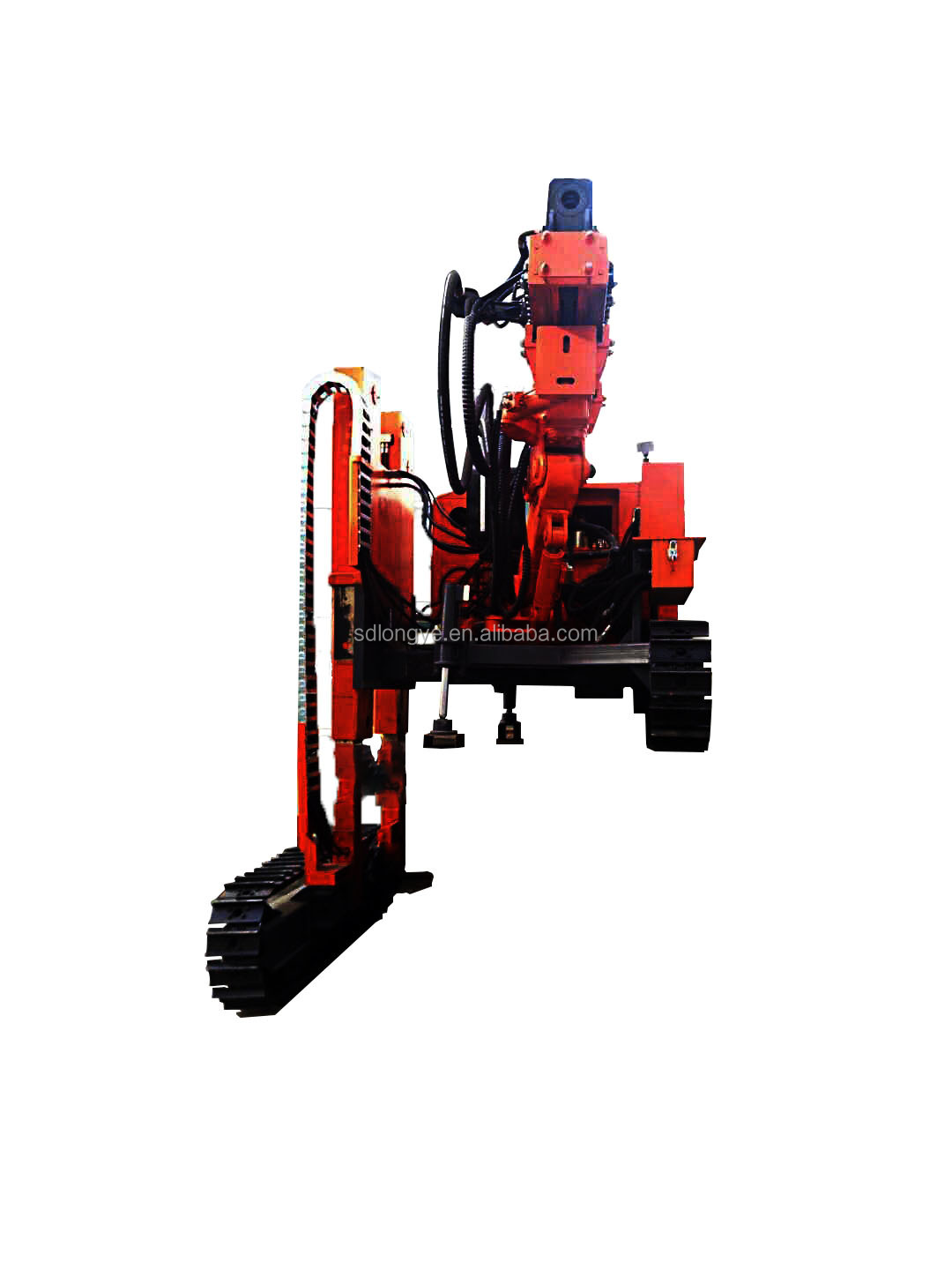Hot Sell Hydraulic Static Pile Driver/ Diesel Hammer/ Used Hydraulic Hammer MZ398Y for Mountainous solar