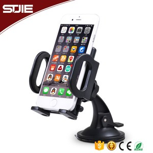 STJIE - 2 in 1 ABS Plastic Universal 360 Rotatable mobile phone car mount windshield holder,Mobile Phone Holder,holder phone