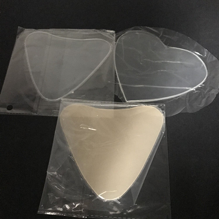 Hot selling herbruikbare siliconen borst anti rimpel pad siliconen anti rimpel borst pads gezicht pads