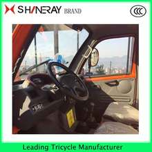 Hot!!! ENCLOSED CABIN 3 THREE WHEEL MOTORCYCLE WITH STEERING WHEEL