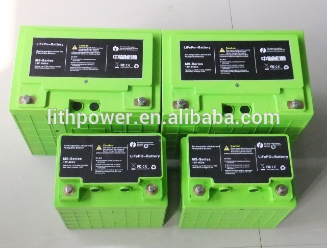 2000cycles lithium ion battery, high power lithium ion car battery, light weight lithium ion battery 12v with BMS