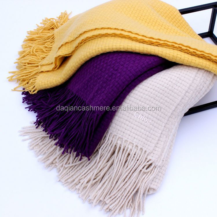 best selling 100%cashmere stole pashmina scarf