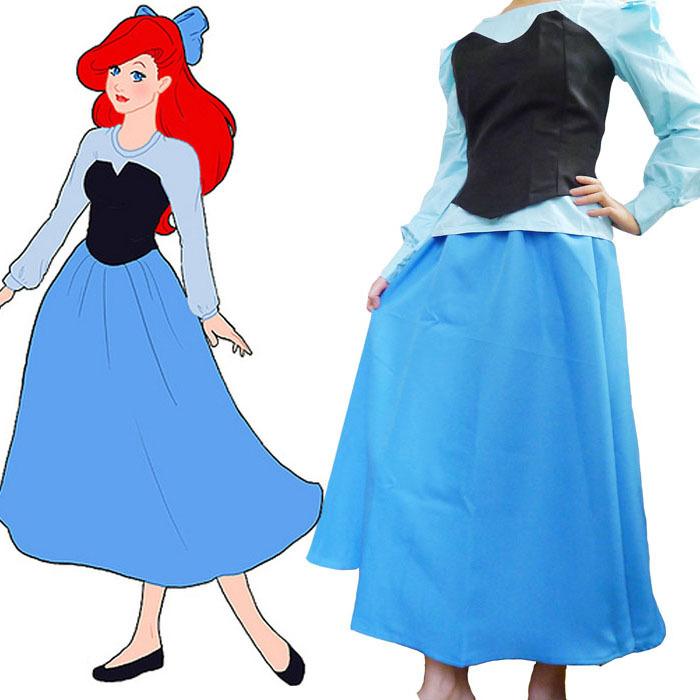 Princess ariel costume sexy Princess Ariel Dress Costume For Adults