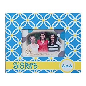 Glory Haus Delta Delta Delta Sisters Frame, 8 by 10-Inch
