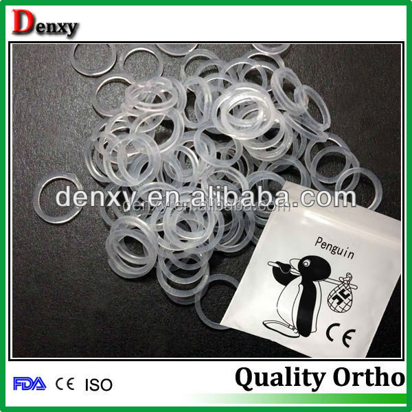 Good performance Denxy Ortho made dental orthodontic elastic rubber band / dental elastic rubber band