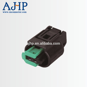 2 ways pbt gf10 waterproof female auto connector for AMP, 2 pin auto waterproof connector male and female
