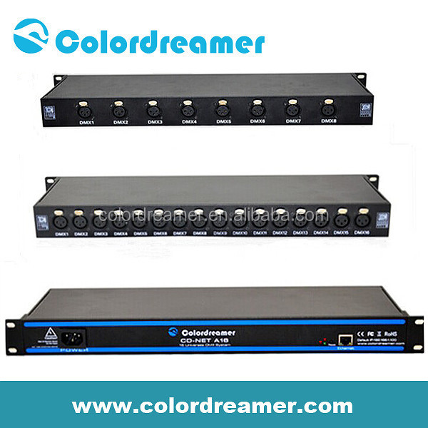 artnet dmx controller 2 ,8,16 universe support Artnet 3 1 protocol for  djbooth, View artnet, Colordreamer Product Details from Shenzhen  Colordreamer