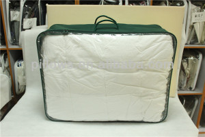 clear plastic / PVC bedding bags with wire frame