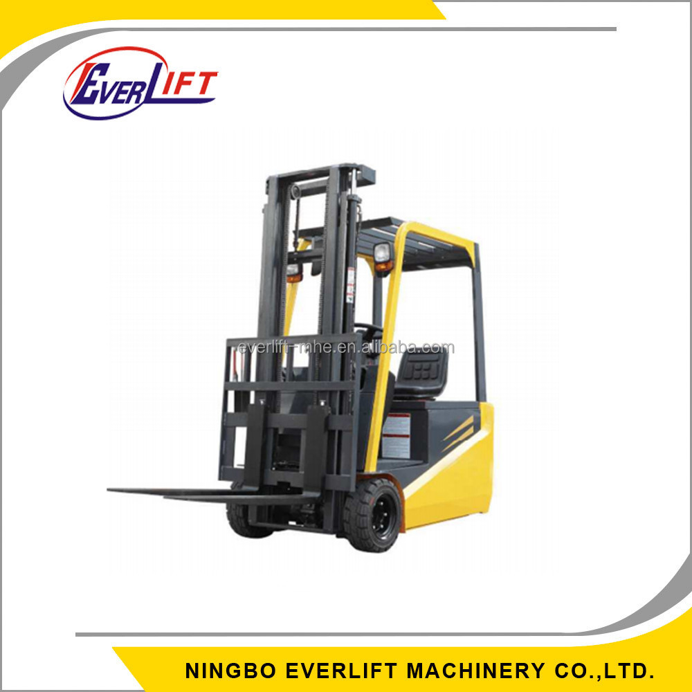 0.7, 1, 1.2, 1.6 Tons Mini 3 Wheels Counterbalance Electric forklift truck powered forklift low price forklift for sale