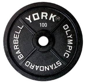 "Legacy 2"" Olympic Weight Plate Weight: 100 lbs"