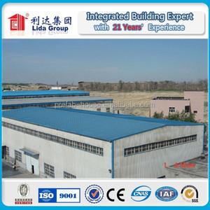 PEB steel structure shed building