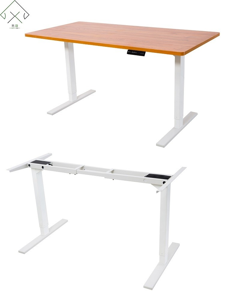 Hot selling electric height adjustable table leg buy for Motorized standing desk legs