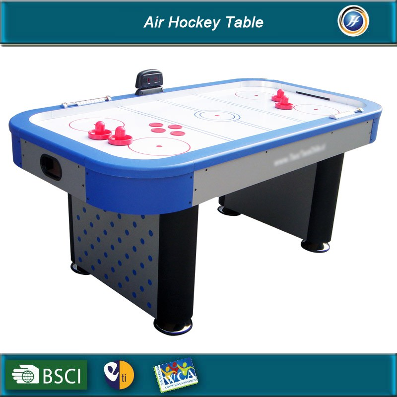 6 Foot Air Hockey Game Table for Kids and Adults with Electronic Scorer, Free Pushers and Pucks
