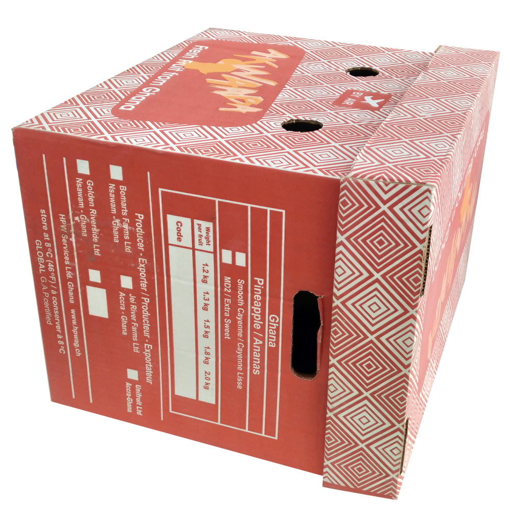 Popular and fancinating standard packing paper box sizes