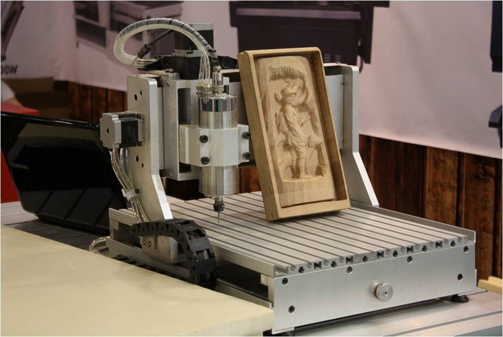 Small Cnc Wood Carving Milling Engraving Machine For