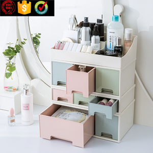 New Product Cheap Plastic Makeup Cosmetic Organizer With Drawer