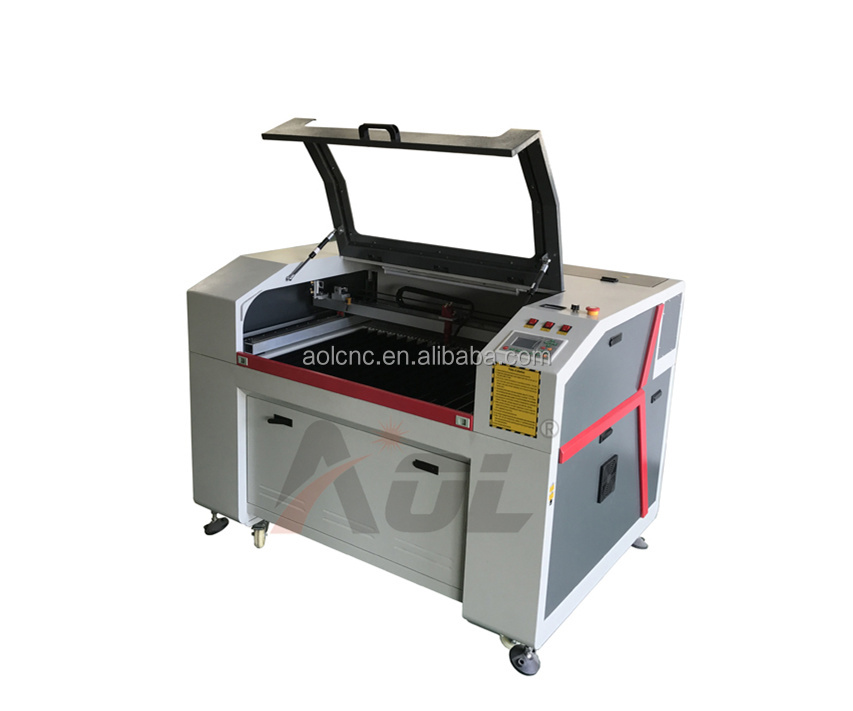 China Direct Manufacturer AOL 6090 wedding card laser cutting machine