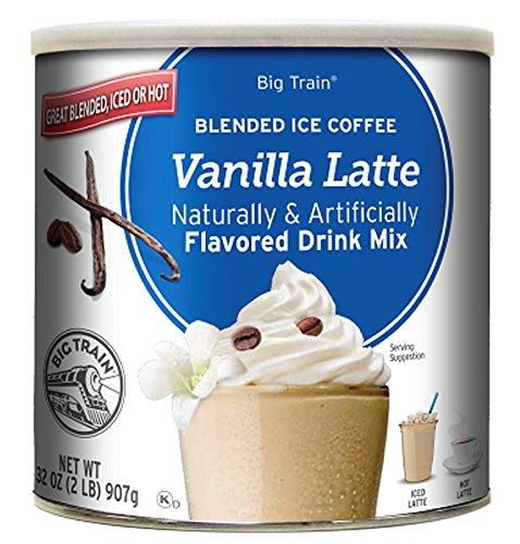 Buy Big Train Caramel Latte Blended Ice Coffee Mix, 3.5