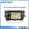 ZESTECH Double din and 7 inch HD touch screen Car radio for Toyota Prius with GPS 3G RADIO
