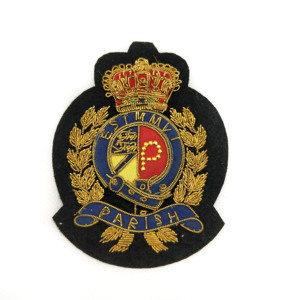 Customized handmade bullion badge/patch for military uniform