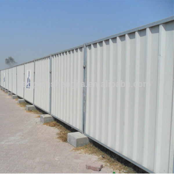 Steel Fence Construction : Temporary fence panel foot mobile
