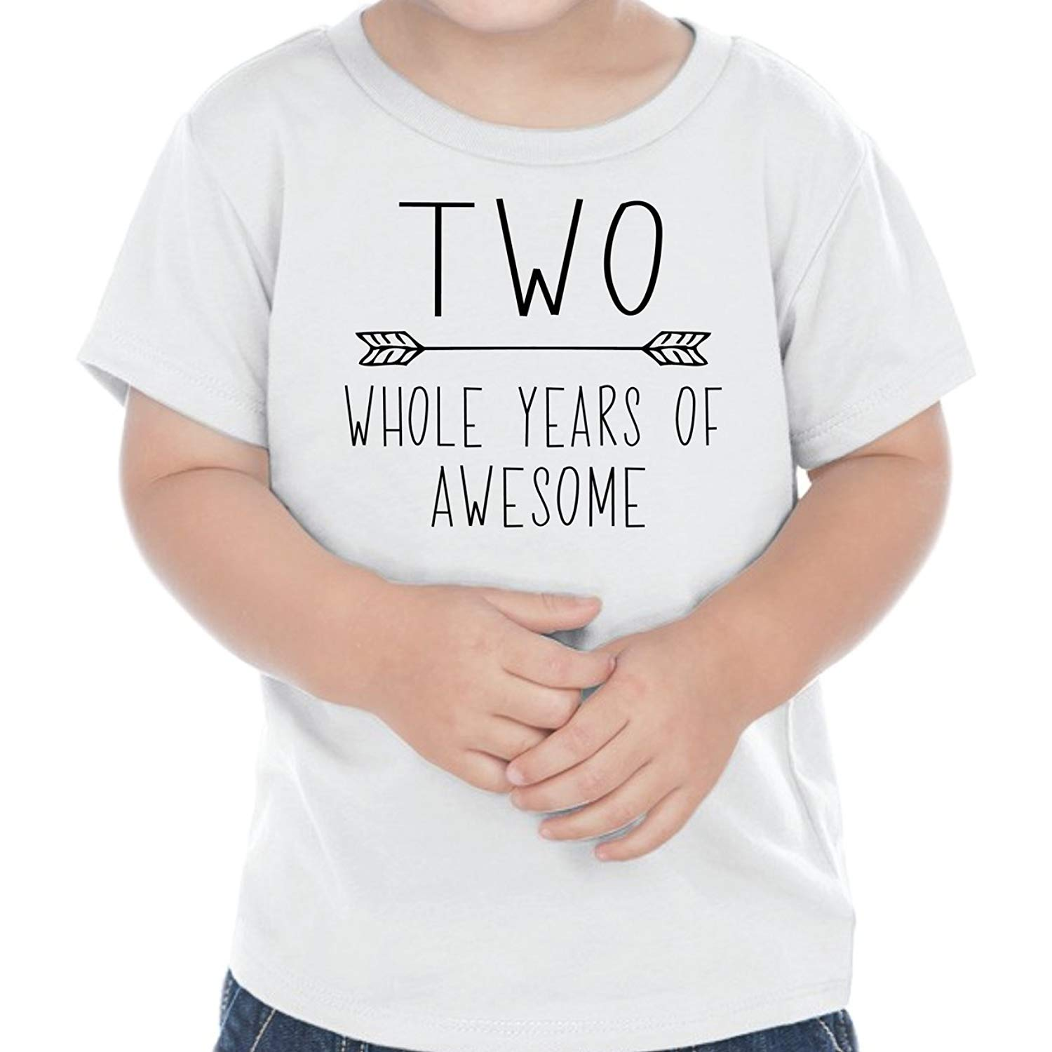Bump and Beyond Designs Second Birthday Outfit Boy Two Year Old Boy Birthday T-Shirt