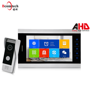 720P AHD video intercom support 6 video monitors wholesale ring doorbell