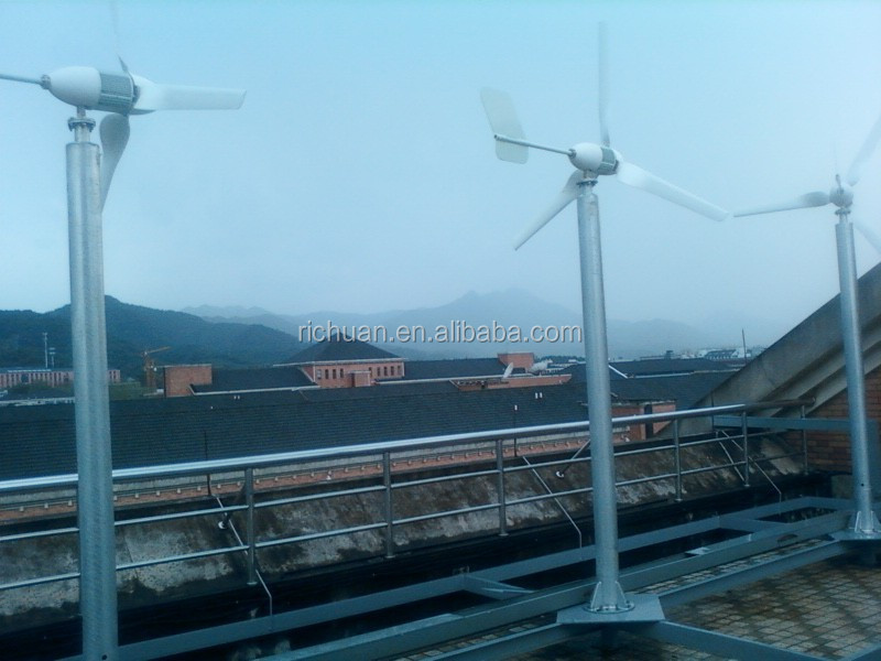 1000w horizontal axis wind turbine, permanent magnet generator, Low cost for home