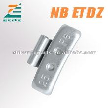 Fe Steel With Two Holes Wheel weights clip on balance weight