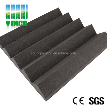 Christmas Home Decoration Foam Engineering Acoustic Panels Studio Foam  Wedge Tiles With High Density