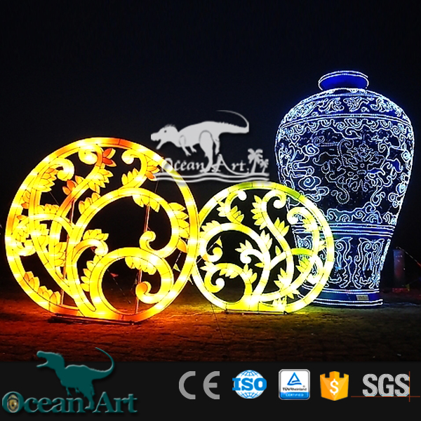 OAV1231 Chinese Moon Festival Lanterns Giant Lantern Outdoor <strong>Show</strong>