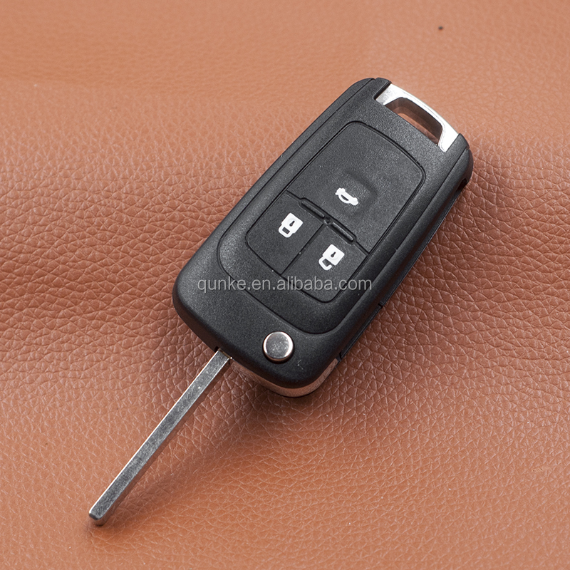 4 Buttons Flip Fold Remote Car Key For Buick Excelle XT 433Mhz ID46 Chip Auto key