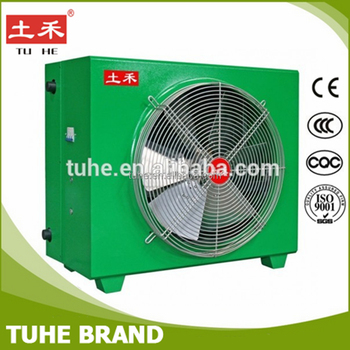 Poultry farm Chicken house air to water heat exchanger with fan