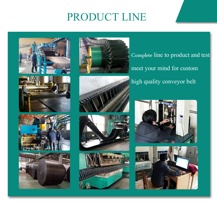 recycling aggregate conveyor systems fabric EP 2m closed ep500/4 fabric belt conveyor production line
